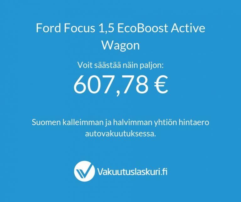 Vakuutuksen hinta - Ford Focus
