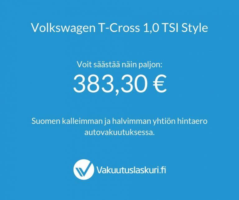 Volkswagen T-Cross 1,0 TSI Style - Test Drive